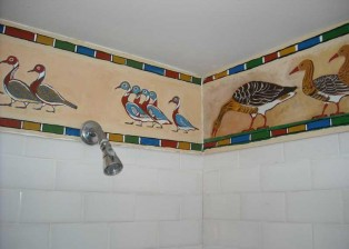 Geese of Medium for the shower
