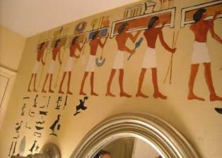 Pharaoh's bathroom